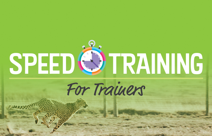 Brand New PD: Speed Training for Trainers image