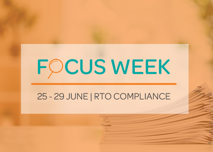 Final Week to Register for the RTO Compliance Focus Week image